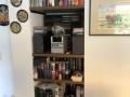 Regalböden, Fachböden, Bücherregal  Nische eingeräumt