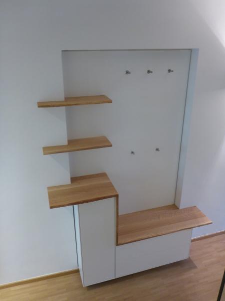 Garderobenmöbel Persp. oben
