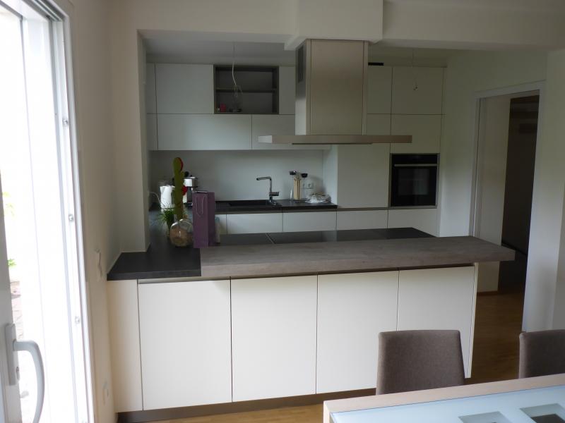 Neue Küche + Schiebetür
