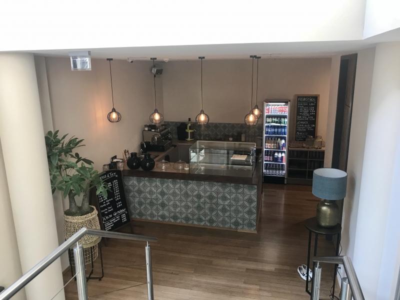 Kaffeetheke von Treppe